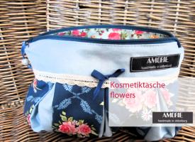 kosmetiktasche-flowers