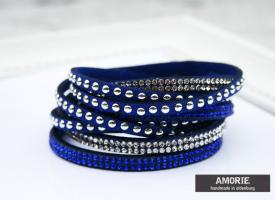 wickelarmband-blau